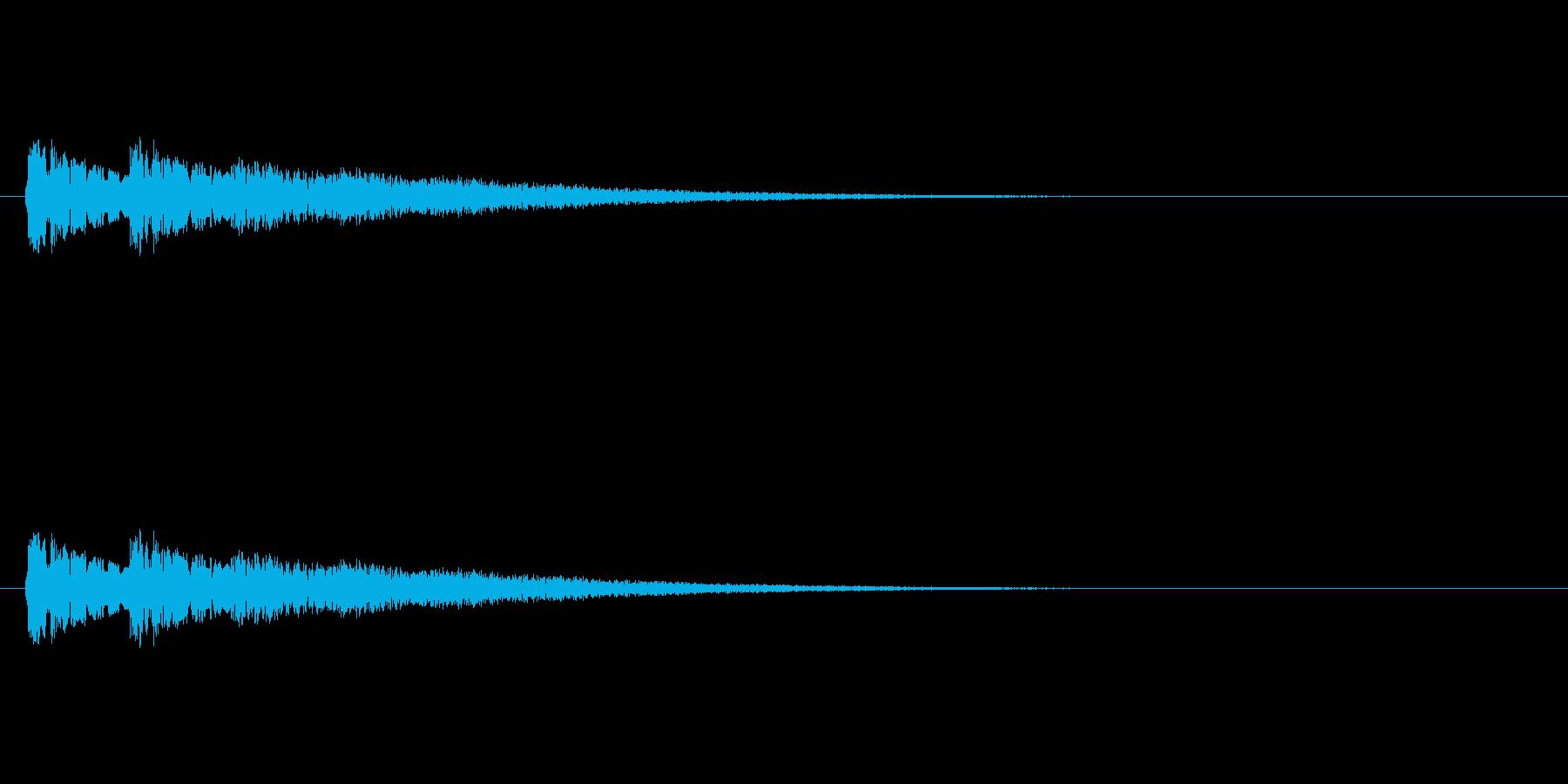 【ネガティブ07-5】の再生済みの波形