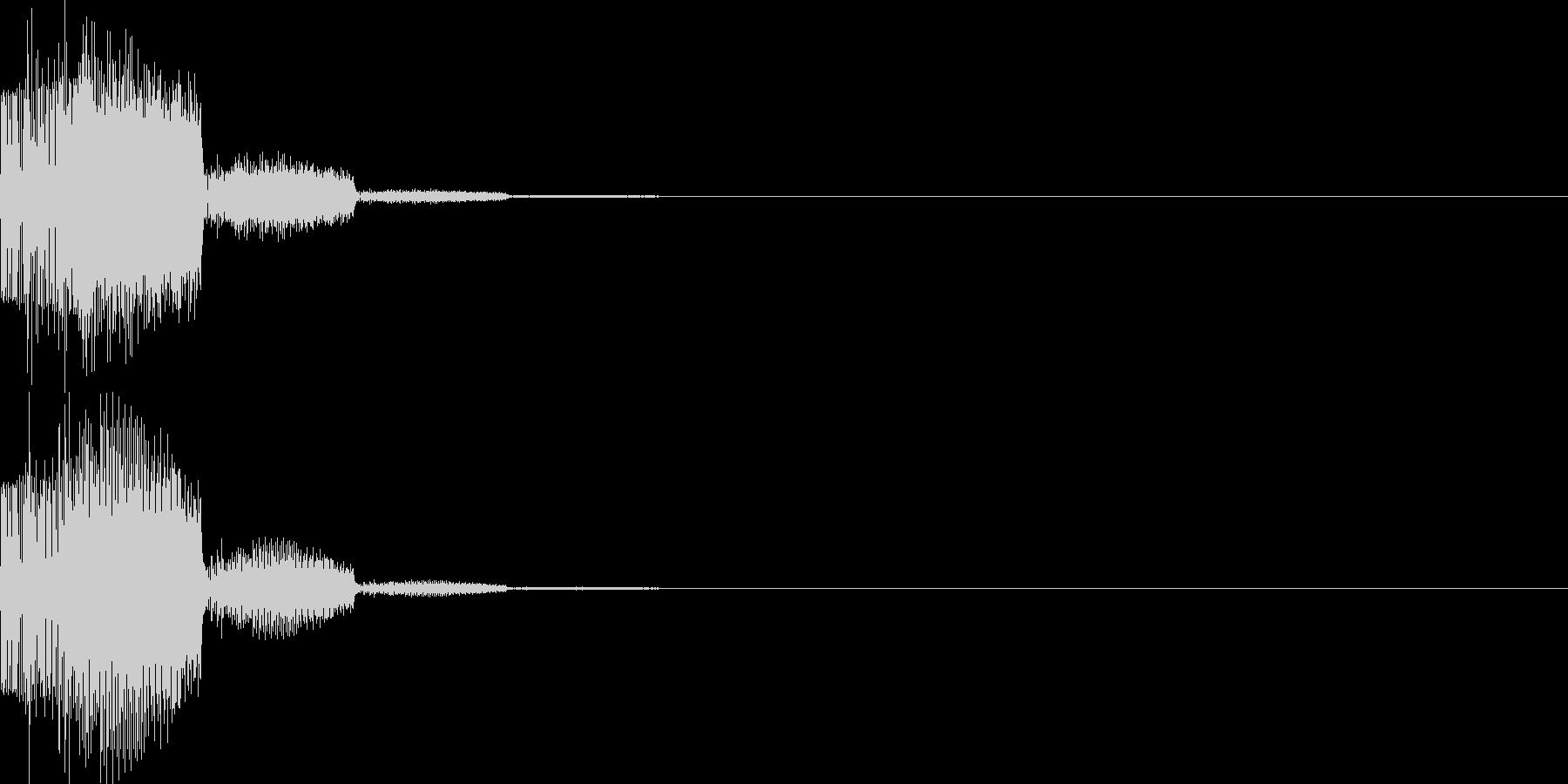 システム音41_シンセYKの未再生の波形