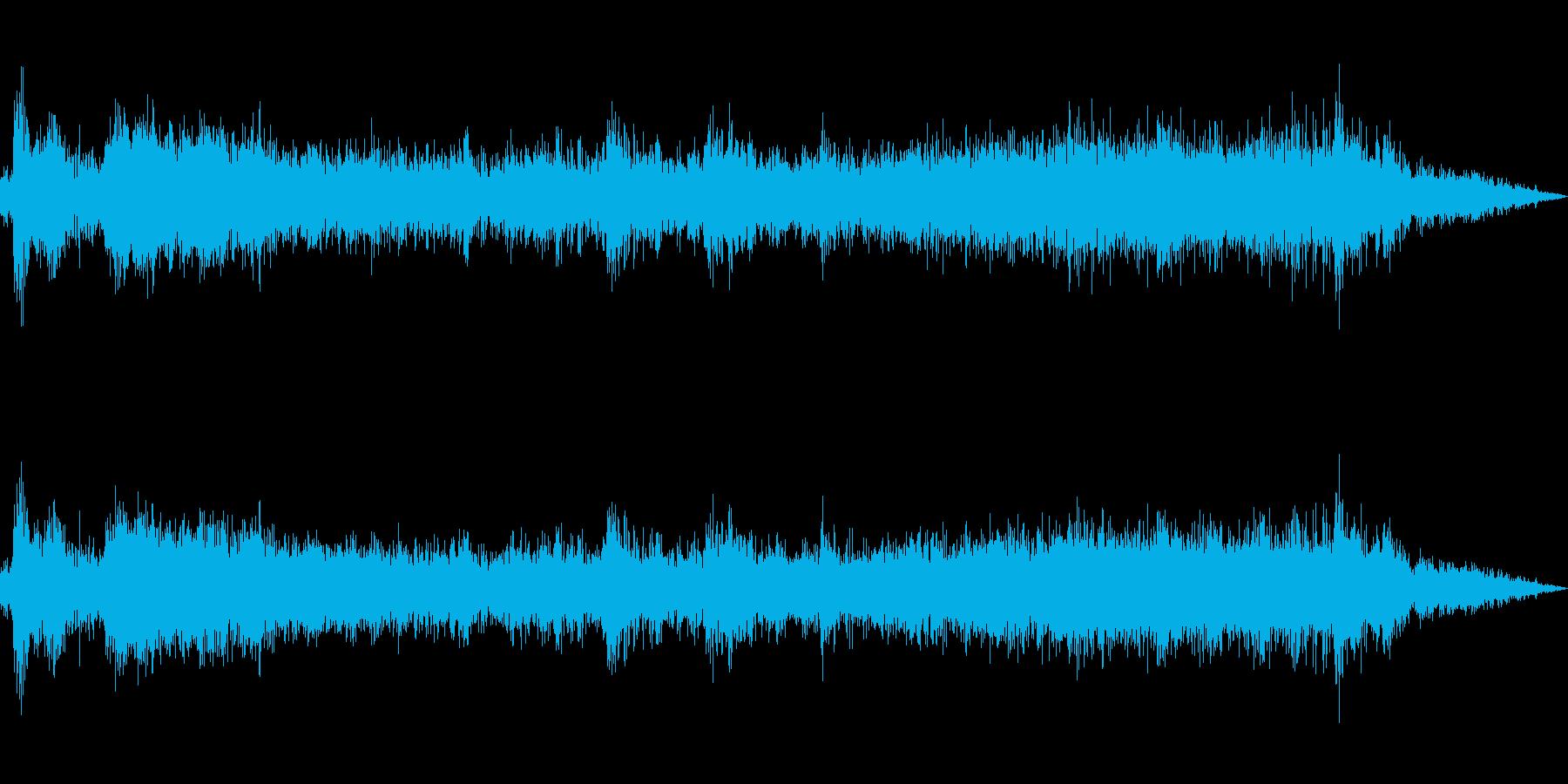 トイレの水を流す(トイレの外から録音)の再生済みの波形
