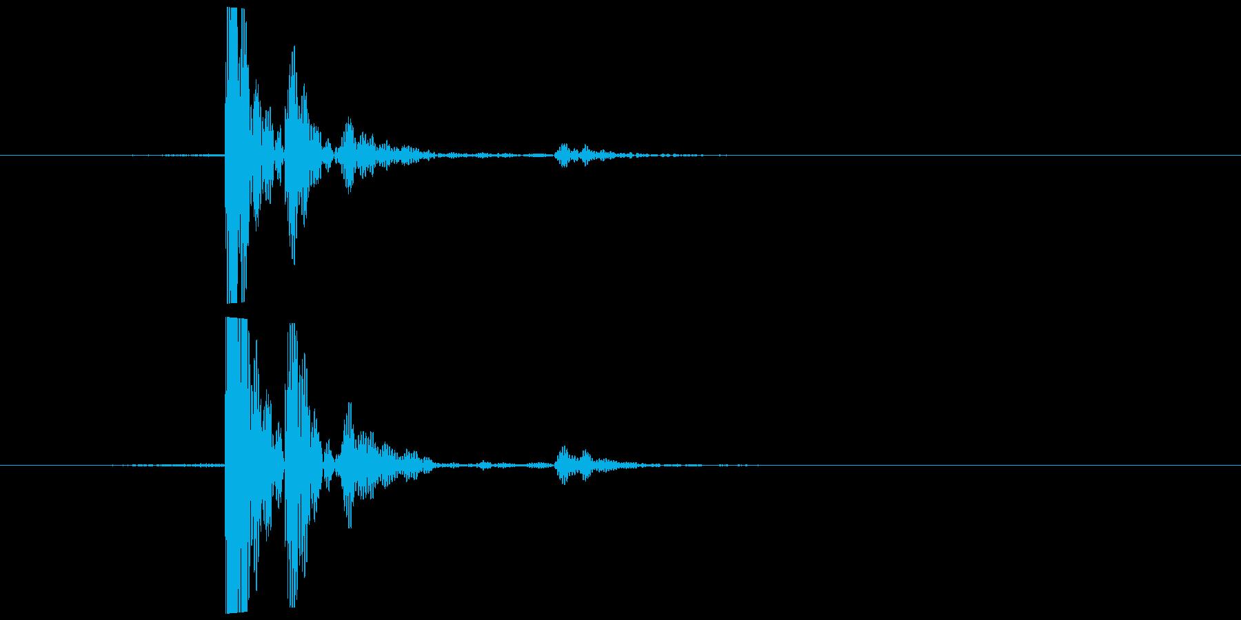 紙コップ 置くなど (量少、空) カッの再生済みの波形