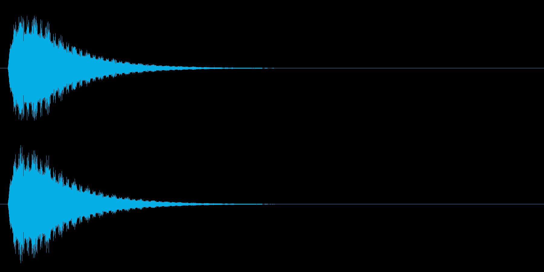 ピィヨォォォンの再生済みの波形