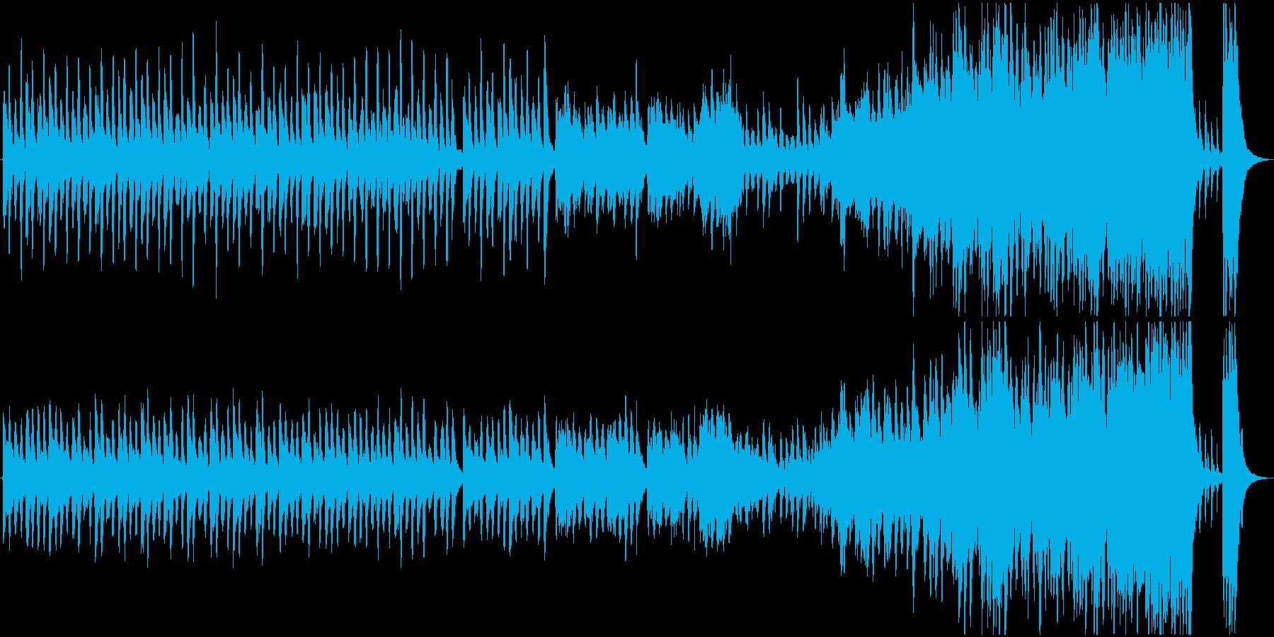 奇妙なクラシック劇伴の再生済みの波形