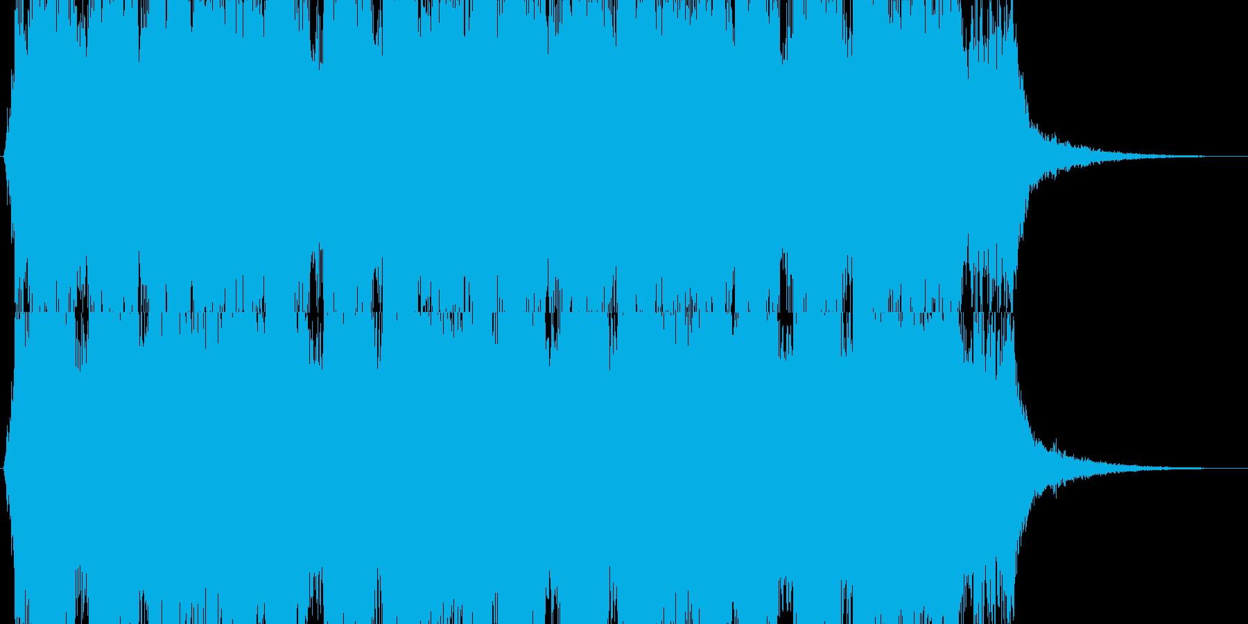 クワイヤー オーケストラ 疾走感の再生済みの波形