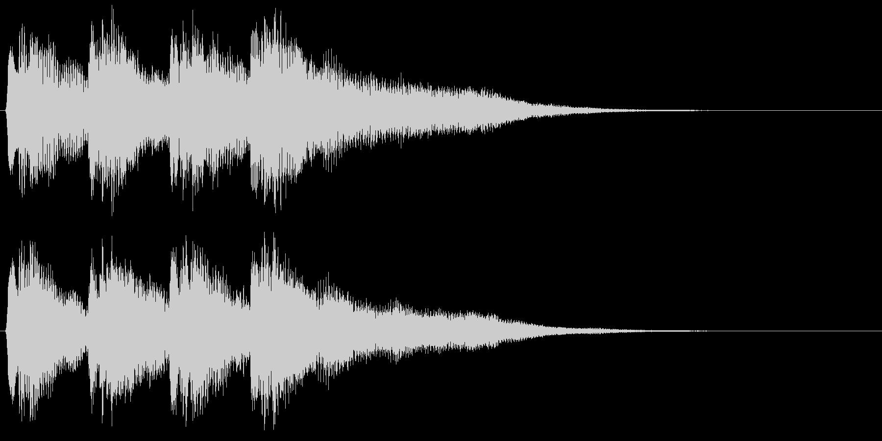 8bitな不正解音 ミス はずれ 失敗の未再生の波形