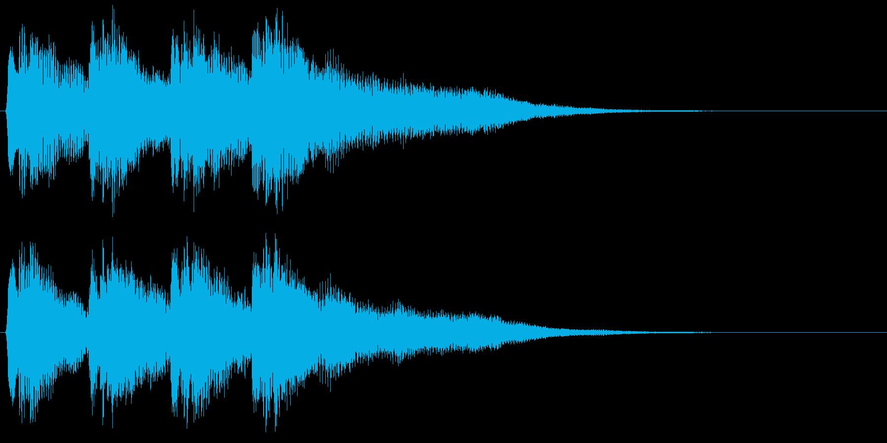 8bitな不正解音 ミス はずれ 失敗の再生済みの波形