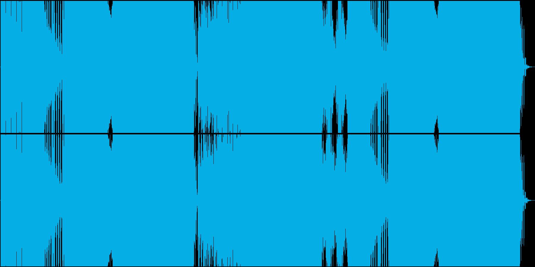 涼しげなオルガンのEDMの再生済みの波形
