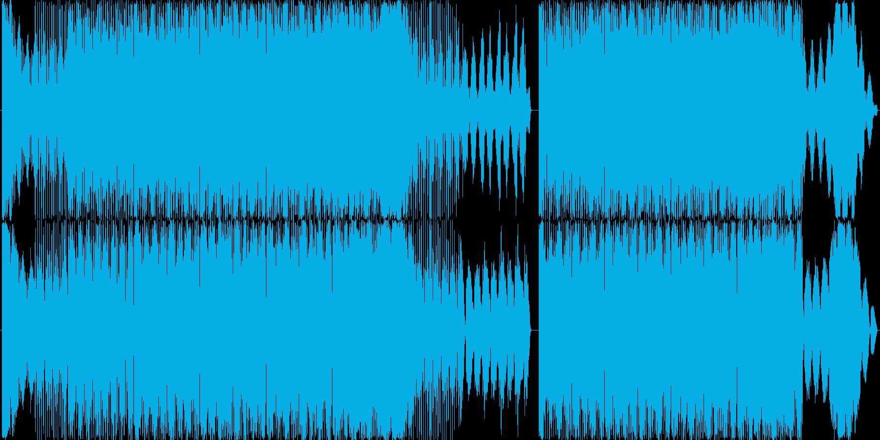 アシッドトランスです。タイトルになって…の再生済みの波形