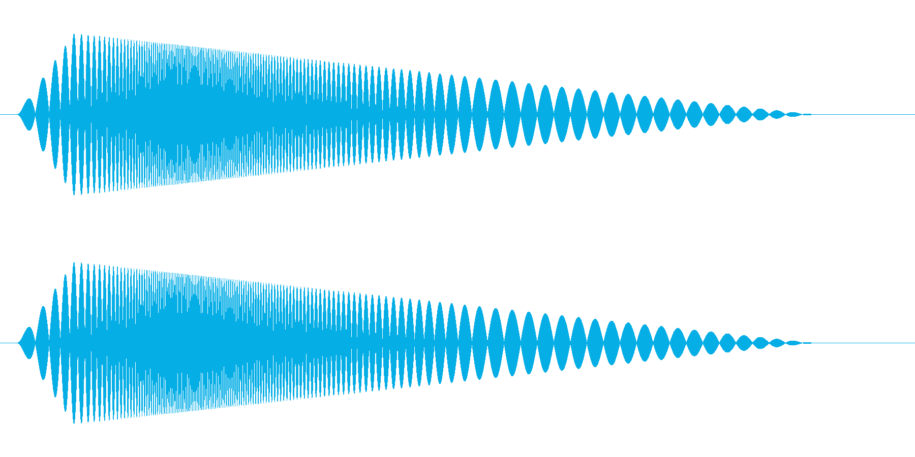 【コミカル】肉球・足音・スタンプ5の再生済みの波形