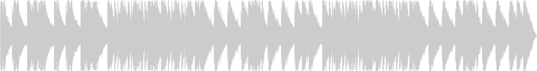 打楽器のみによるドラムマーチの未再生の波形