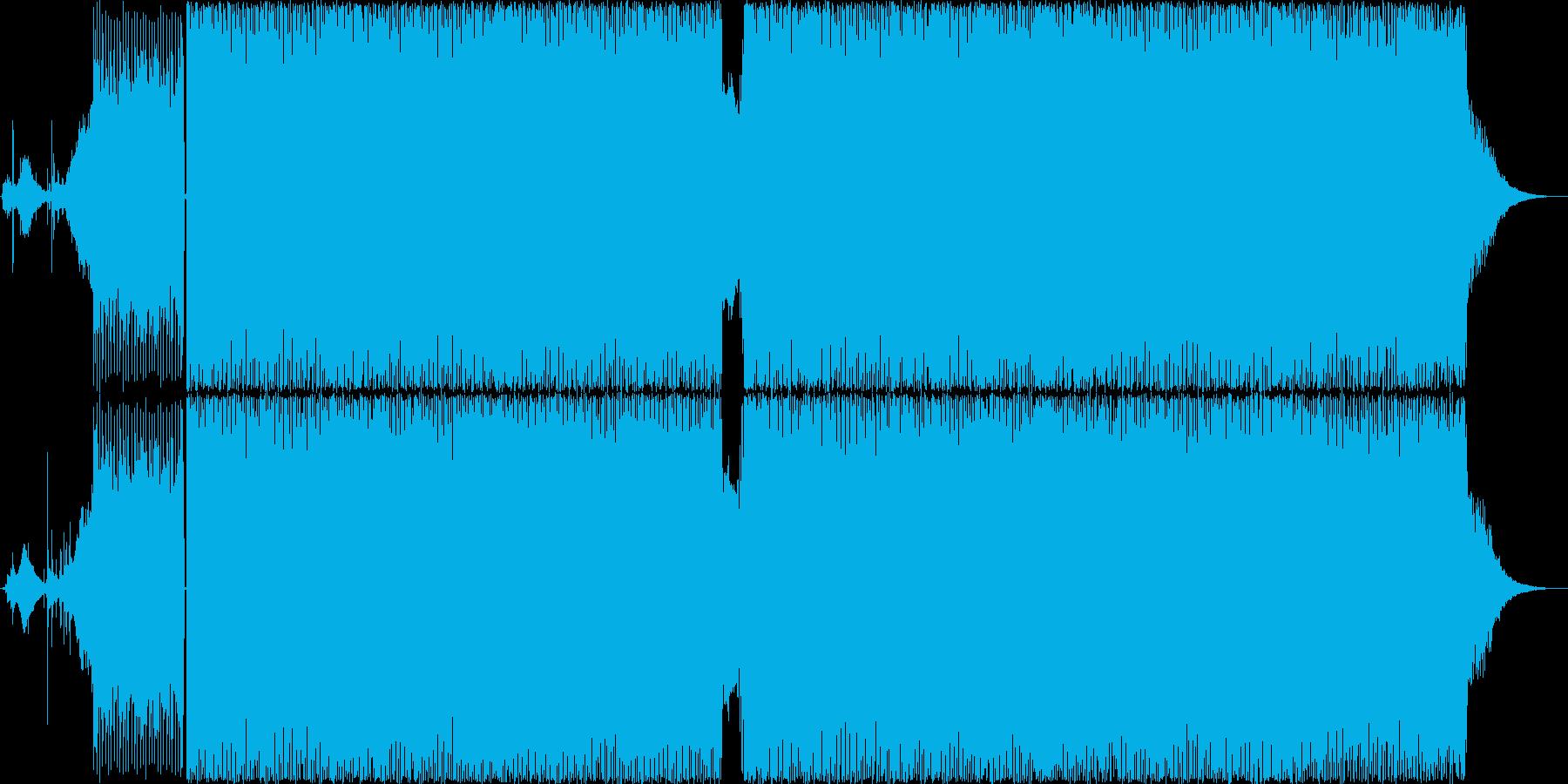 サイケデリックトランス 無機質 の再生済みの波形