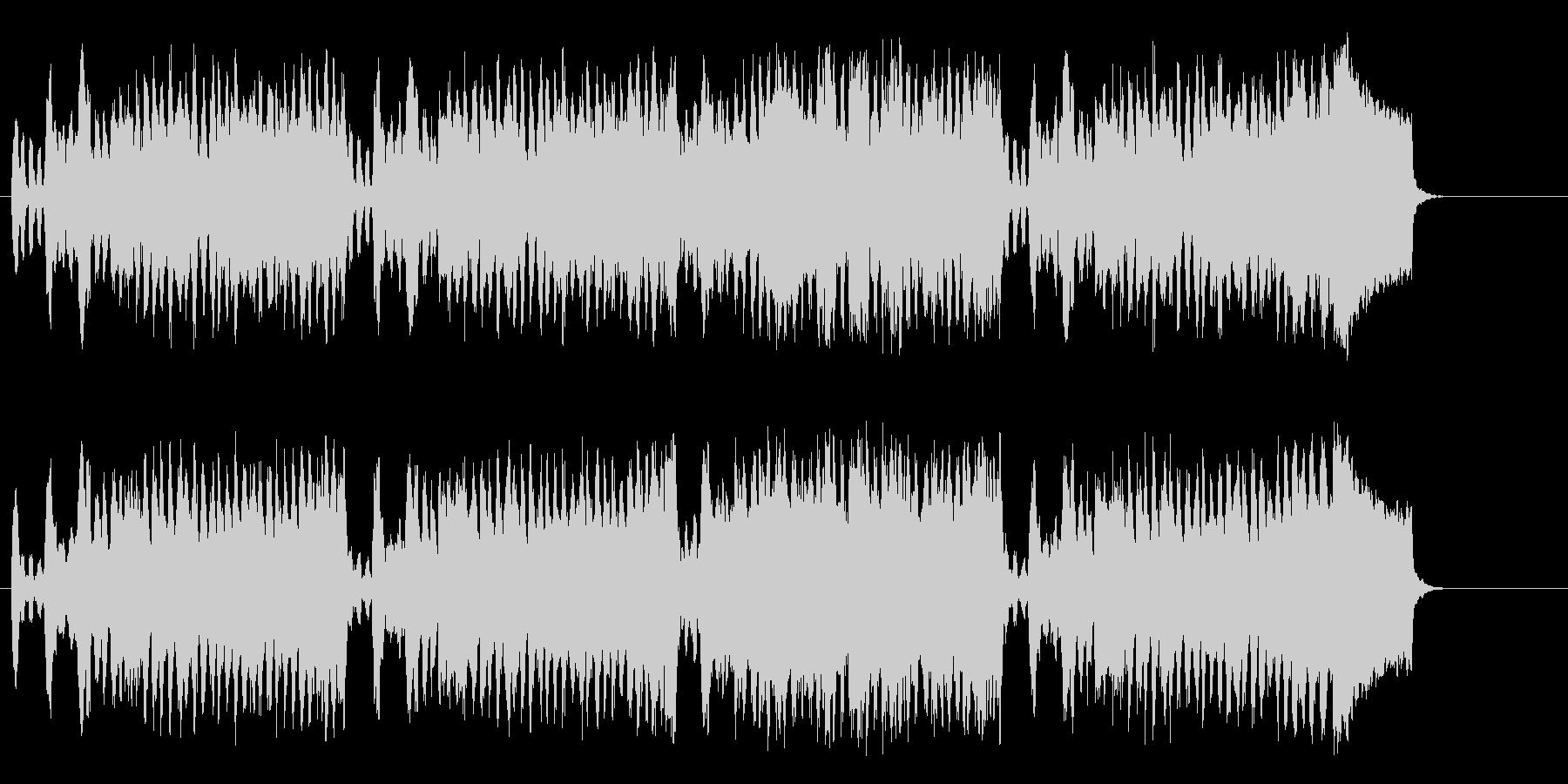 キュートなバロック・セミクラシックの未再生の波形