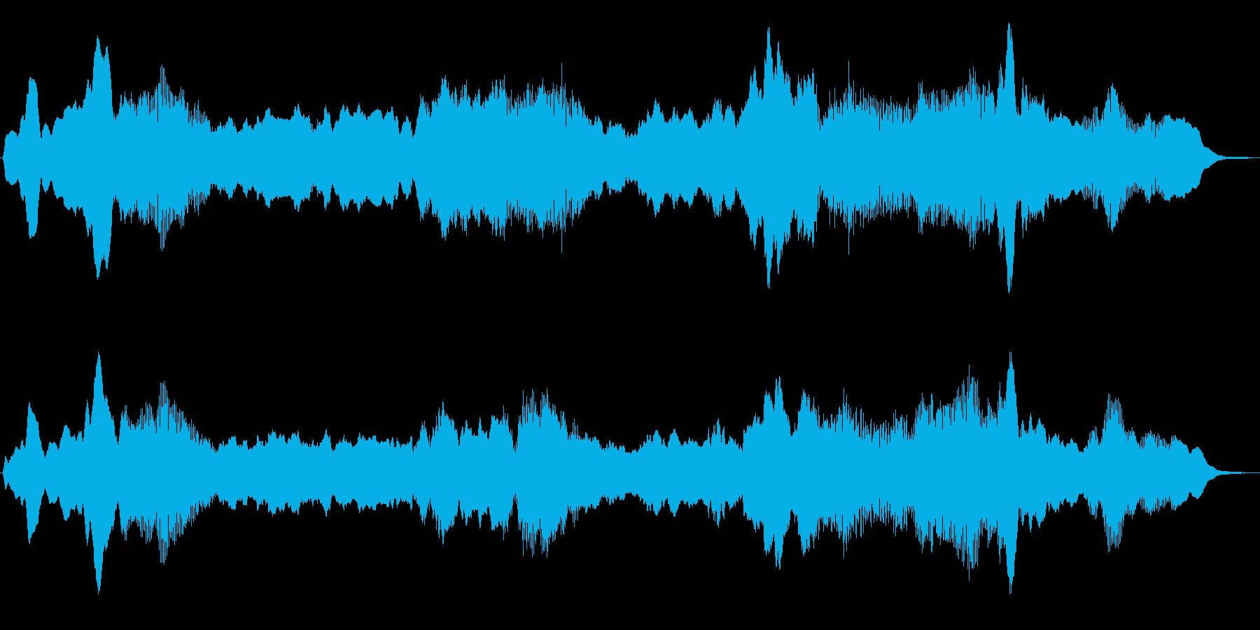 ダークな世界の不思議なジングルの再生済みの波形