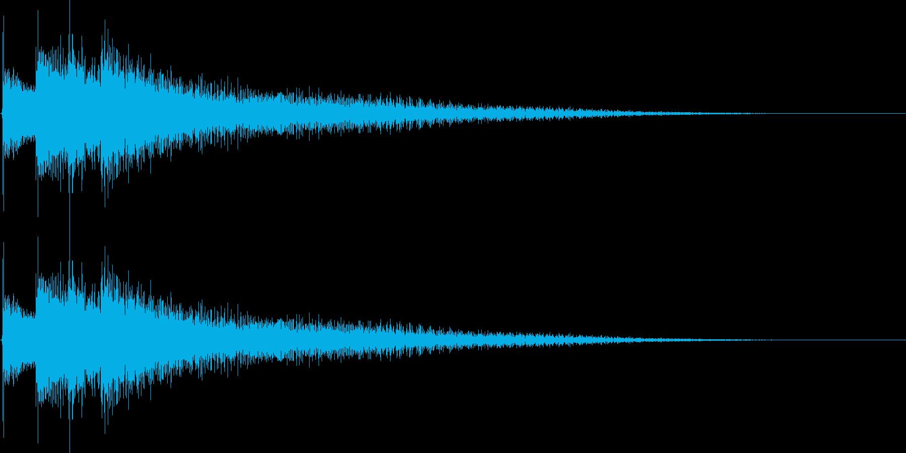 12弦ギターのジングルの再生済みの波形