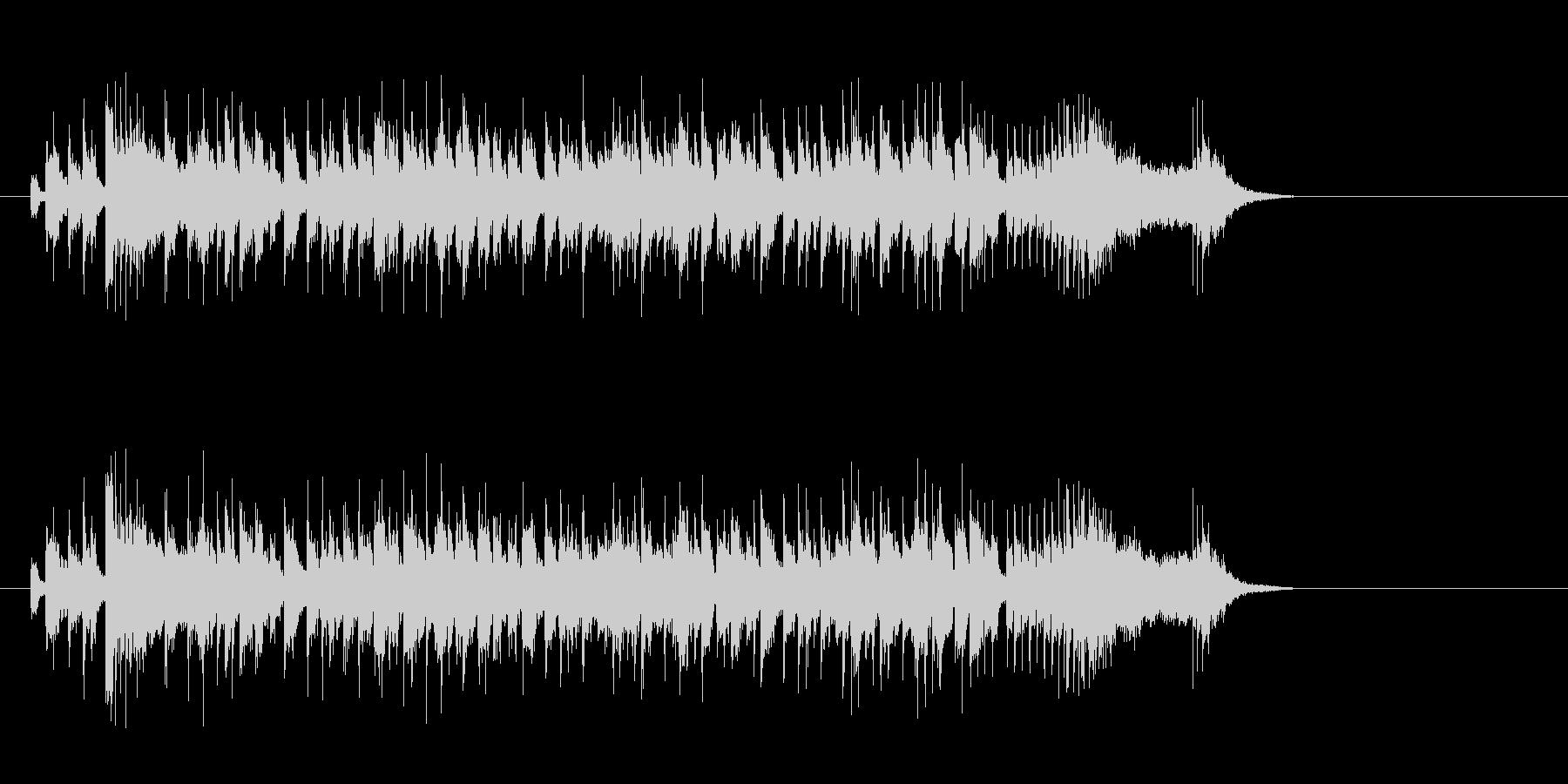 POP系一般ジングルの未再生の波形