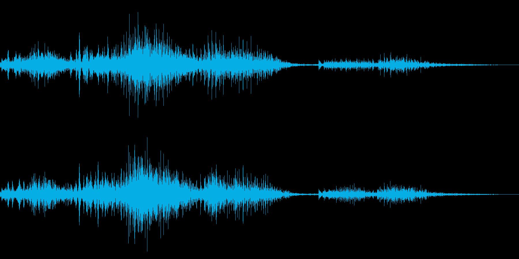 ゾンビやモンスターの唸り声/叫び声!20の再生済みの波形