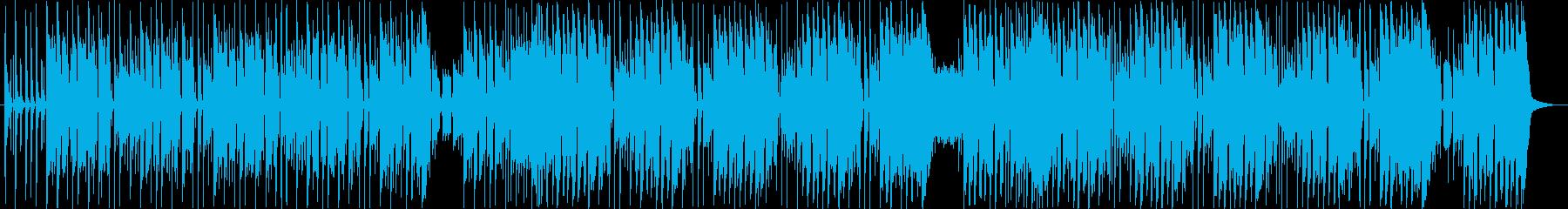 ほのぼのした日常系ブルースの再生済みの波形