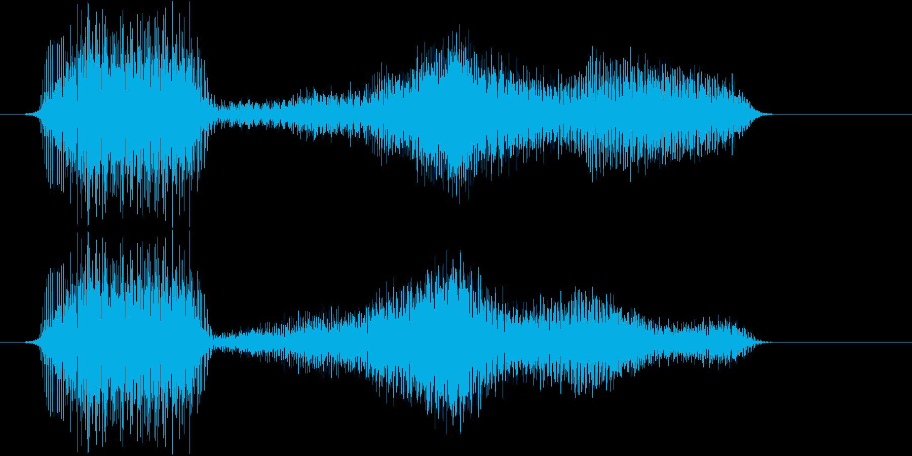 サウンドロゴ等の再生済みの波形