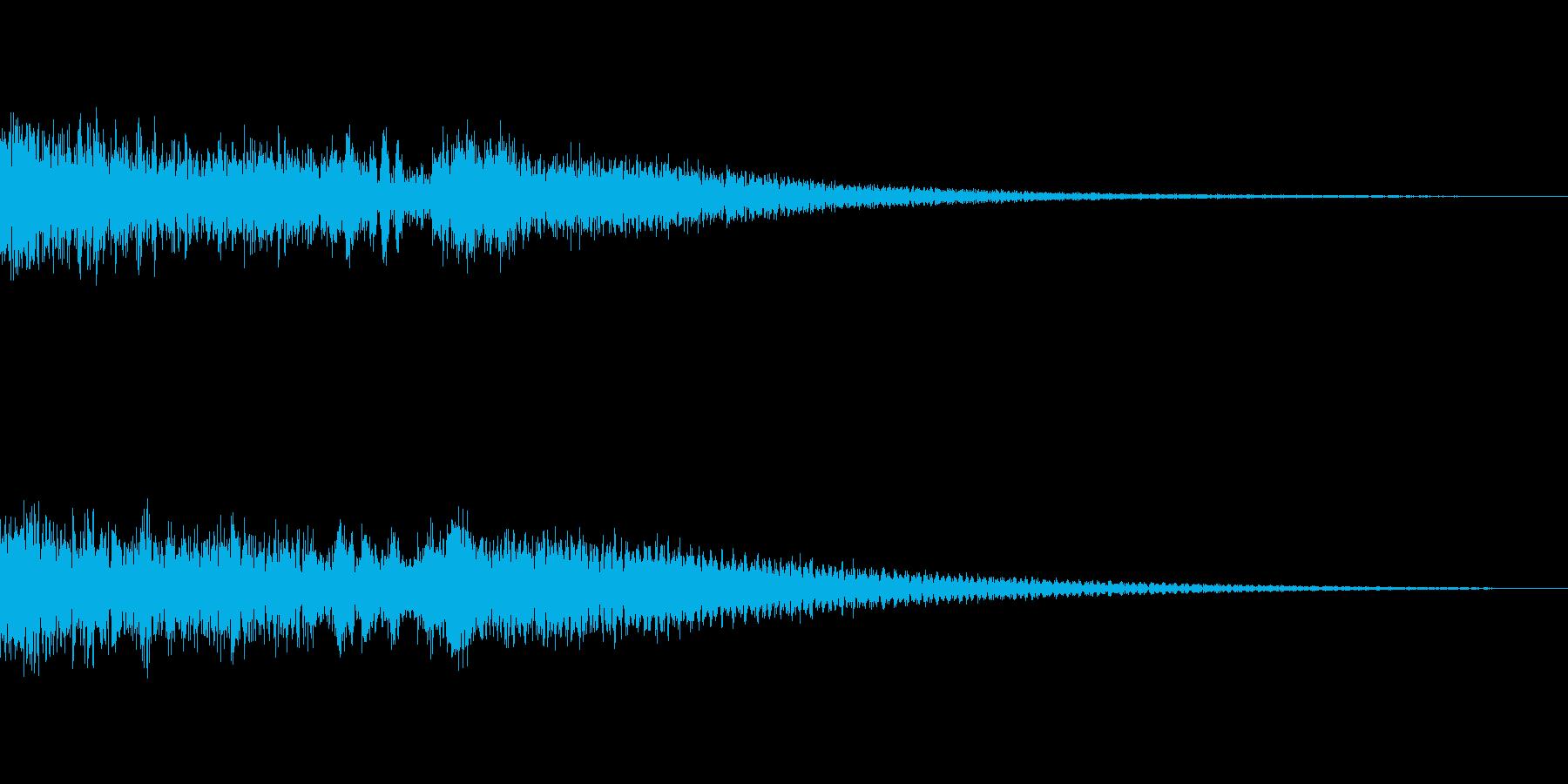 ボス登場アラームお知らせ音 カーンカーンの再生済みの波形