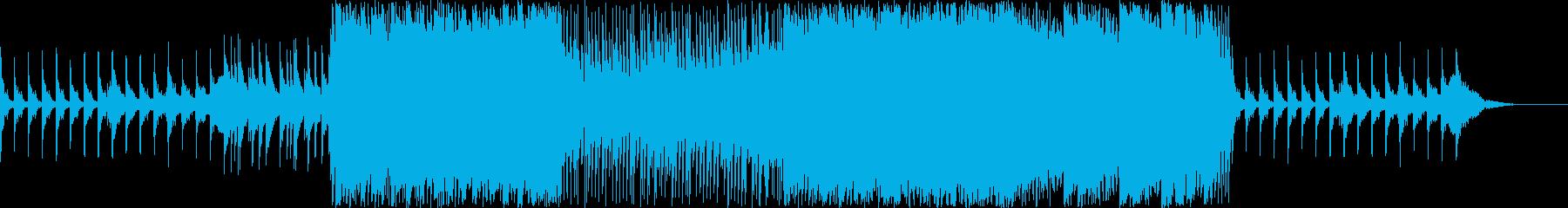【フル尺】雪の眩しさを表すキラキラな楽曲の再生済みの波形