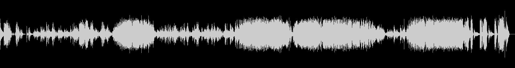 ショパン:バラード一番(ピアノソロ)の未再生の波形