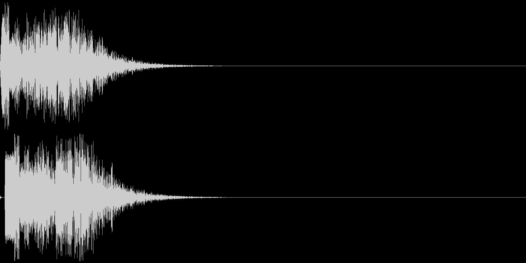 トゥイヨン(電子音)の未再生の波形