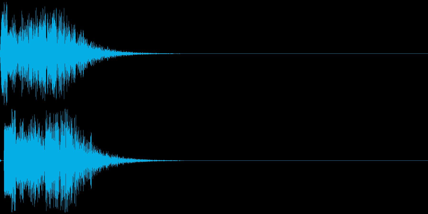 トゥイヨン(電子音)の再生済みの波形