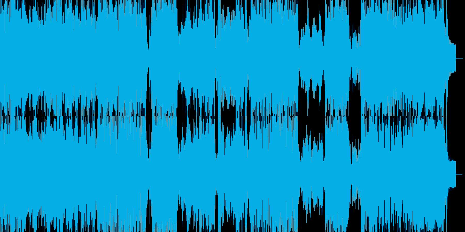 緊急、アシッドテイストなドラムンベースの再生済みの波形