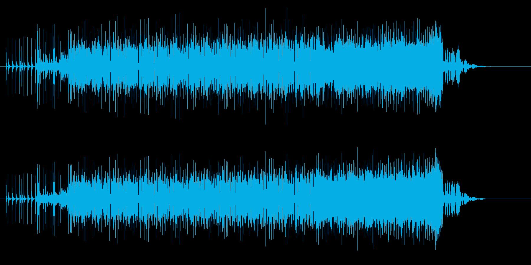 オルガンが気持ち良いポップ・ロックの再生済みの波形