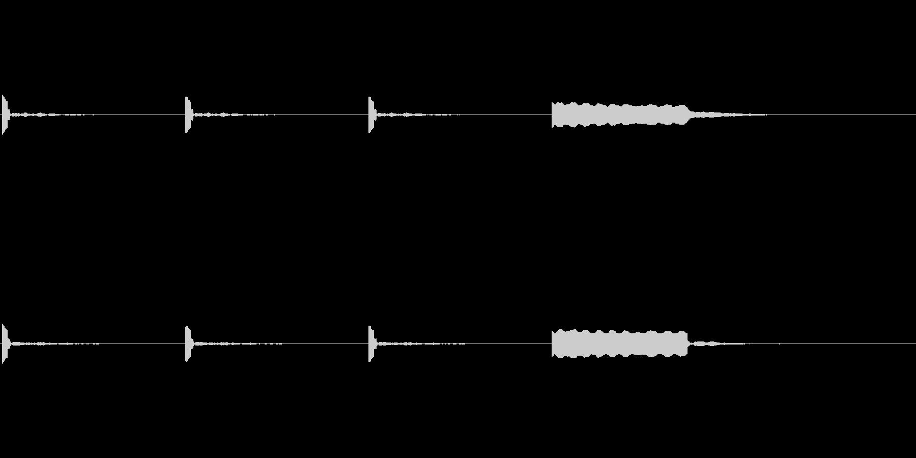 【カウントダウン02-2】の未再生の波形