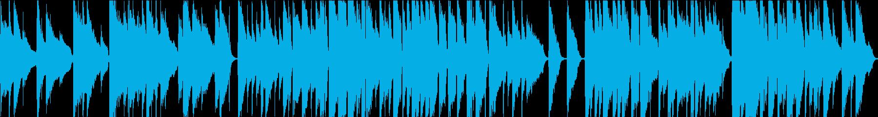 12弦アコギソロのしっとりバラードの再生済みの波形