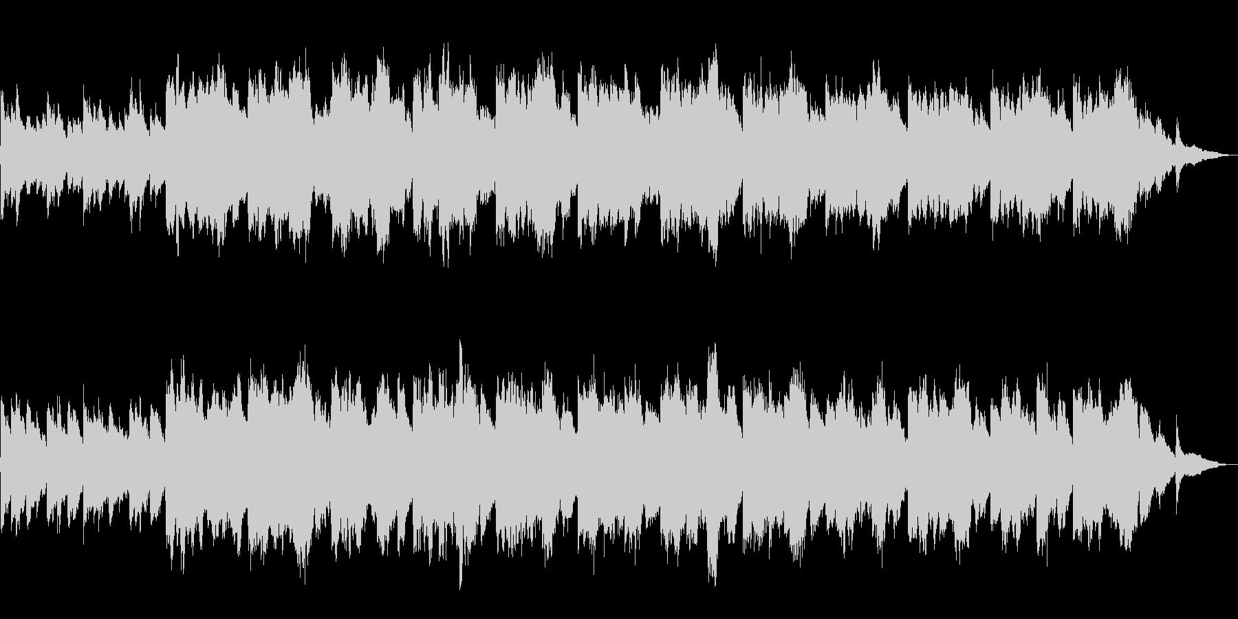 【60秒】朝焼けイメージのシンプルBGMの未再生の波形
