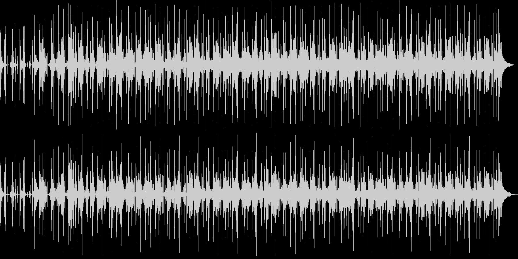 洋楽風のHip-Hopビートの未再生の波形