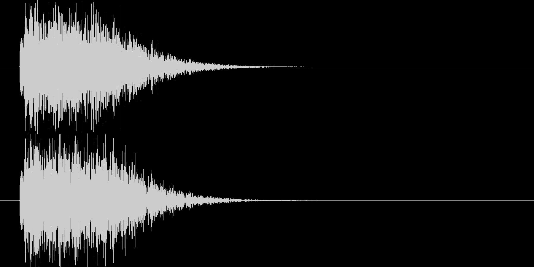 高速移動の未再生の波形