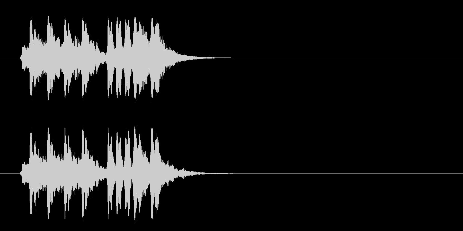 ジングル/かわいいセミクラ(コミカル)の未再生の波形