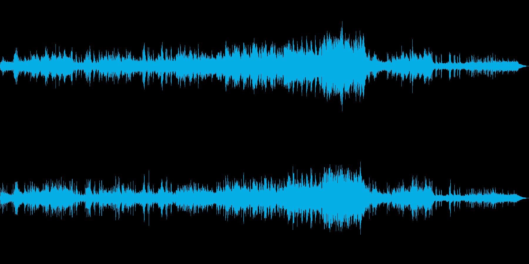 水/海/精霊/幻想的/ピアノ/オーボエの再生済みの波形