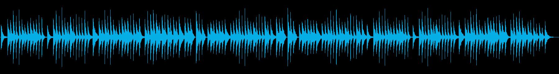 ゆったりとした筝のソロの再生済みの波形