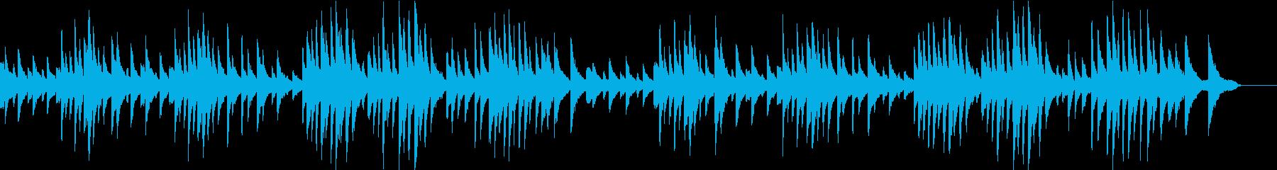 ジムノペディ第1番の再生済みの波形