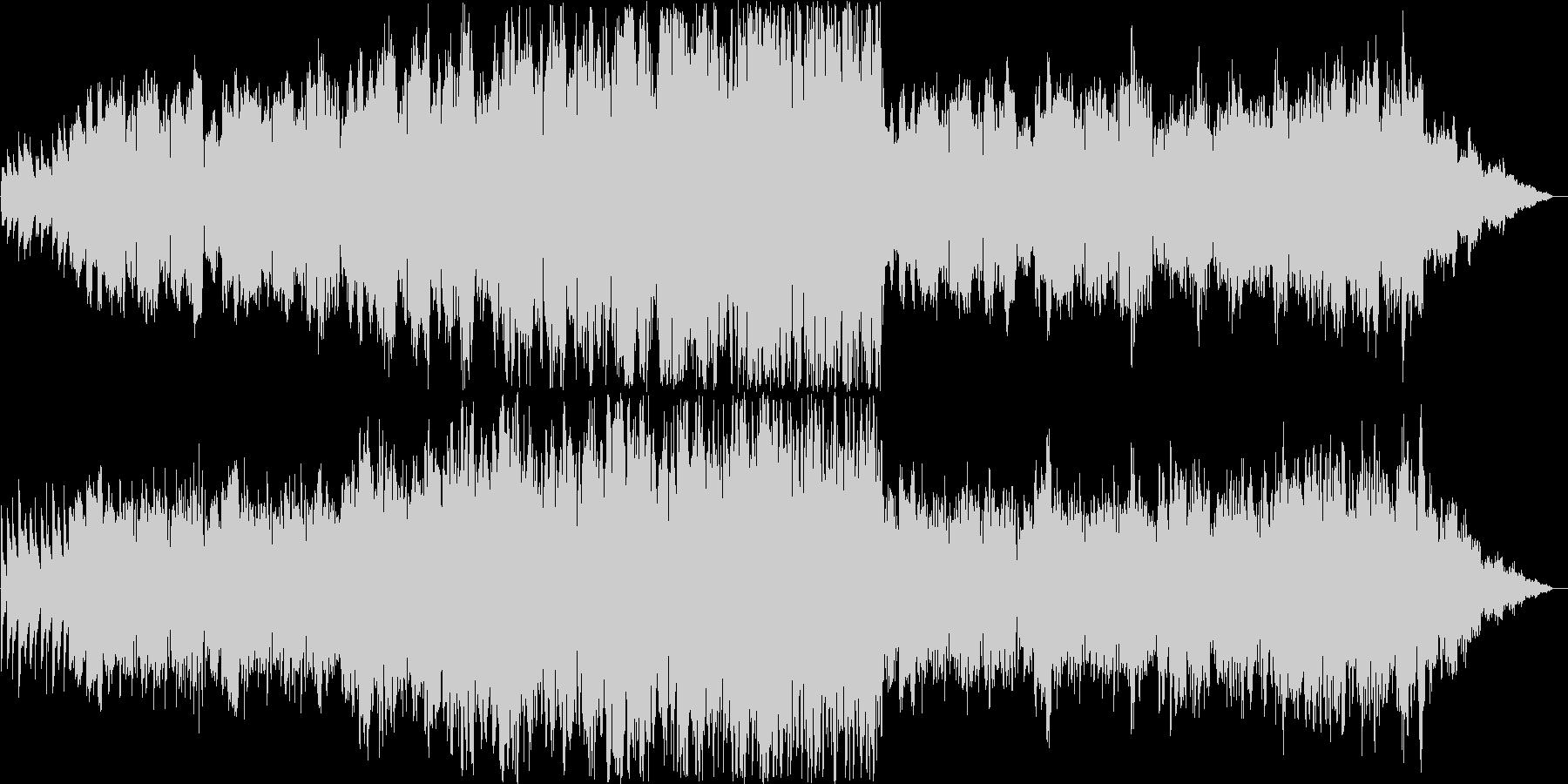 哀しげなシンセ・管楽器サウンドの未再生の波形