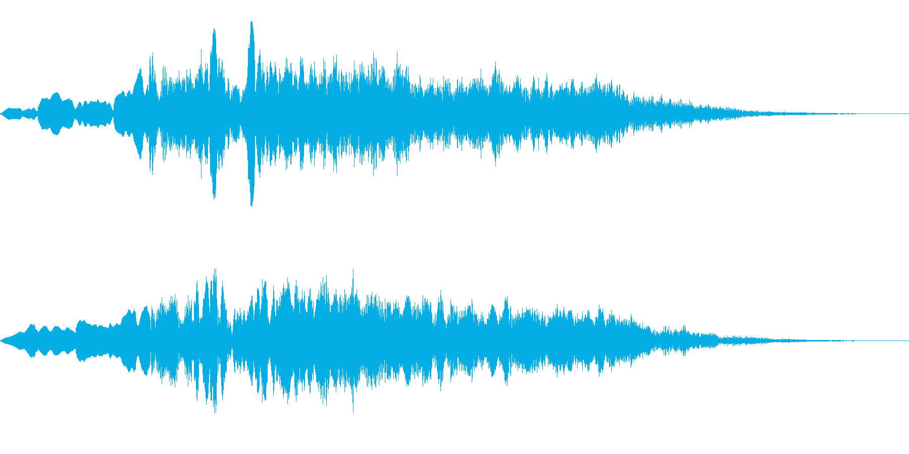 OBAKE 心霊 怪談 肝試し用SE 2の再生済みの波形