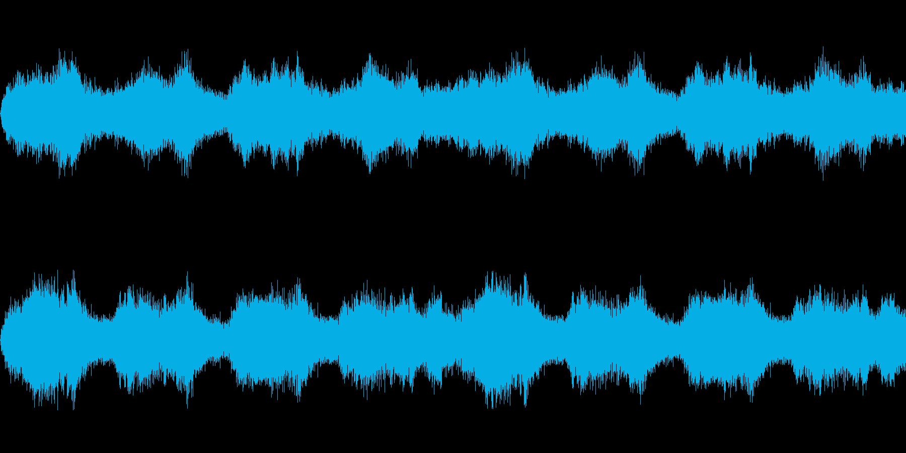 【ドラム抜き】唸るようなホラーサウンドの再生済みの波形