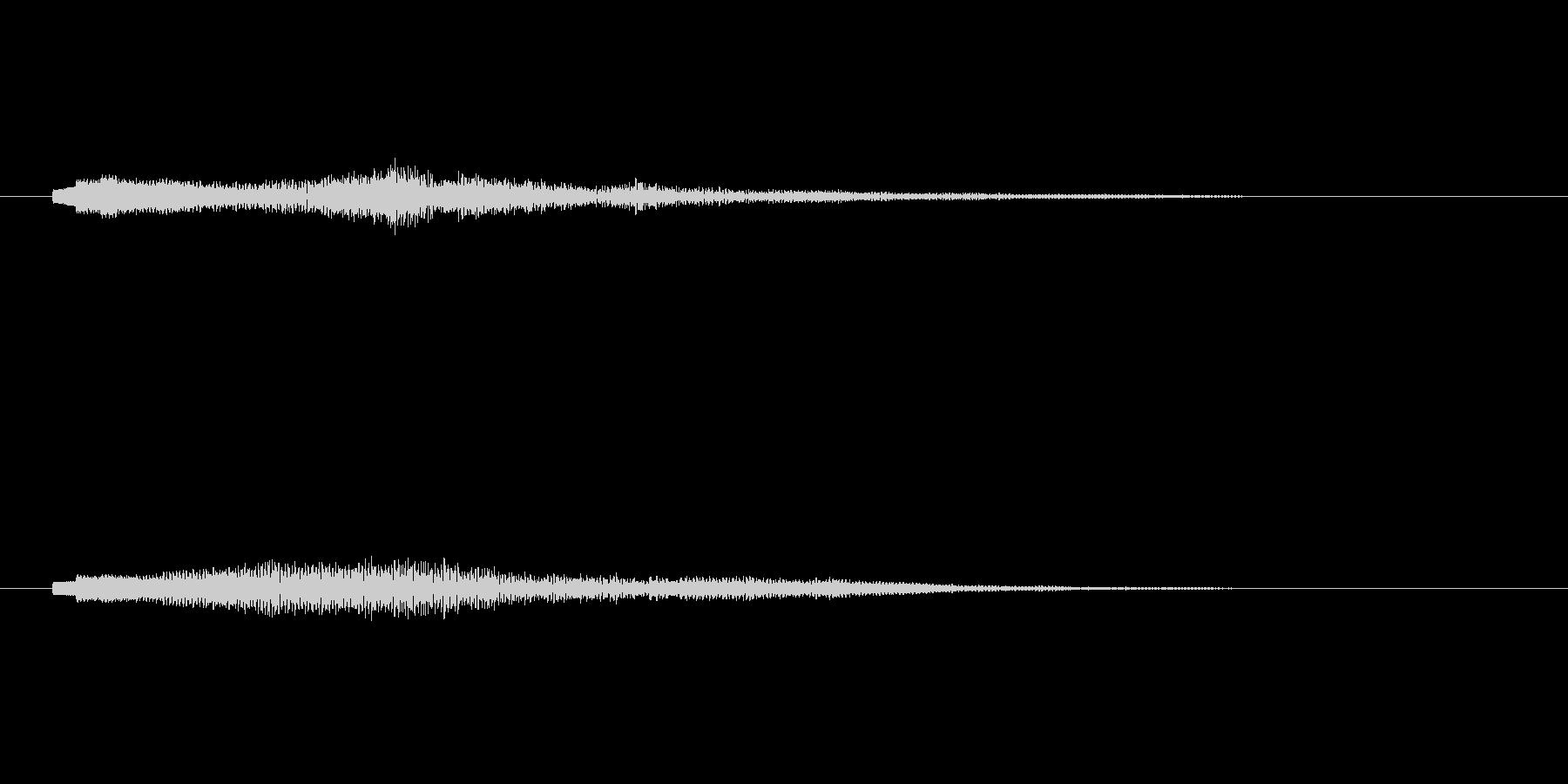 シンセコードによるサウンドロゴ2の未再生の波形