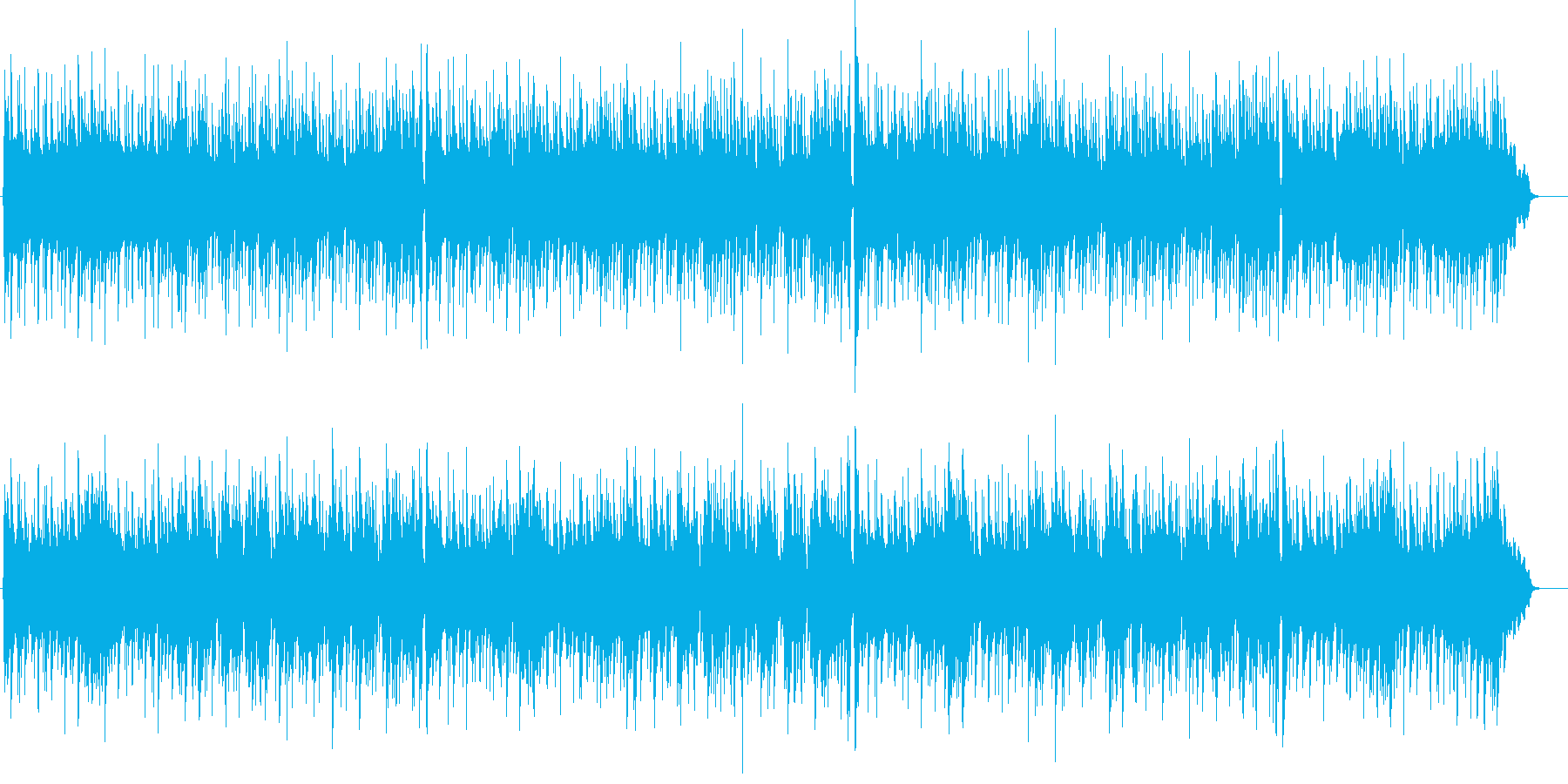 クリスマス ジングルベル かわいいレゲエの再生済みの波形