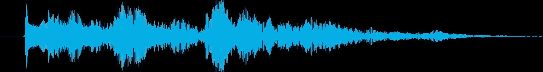 セーブ時をイメージした、ちょっと癒し的…の再生済みの波形