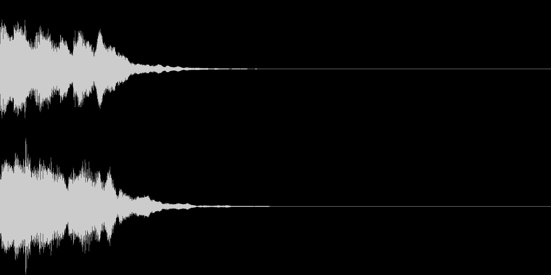 レベルアップ アイテム 入手 発見 響きの未再生の波形