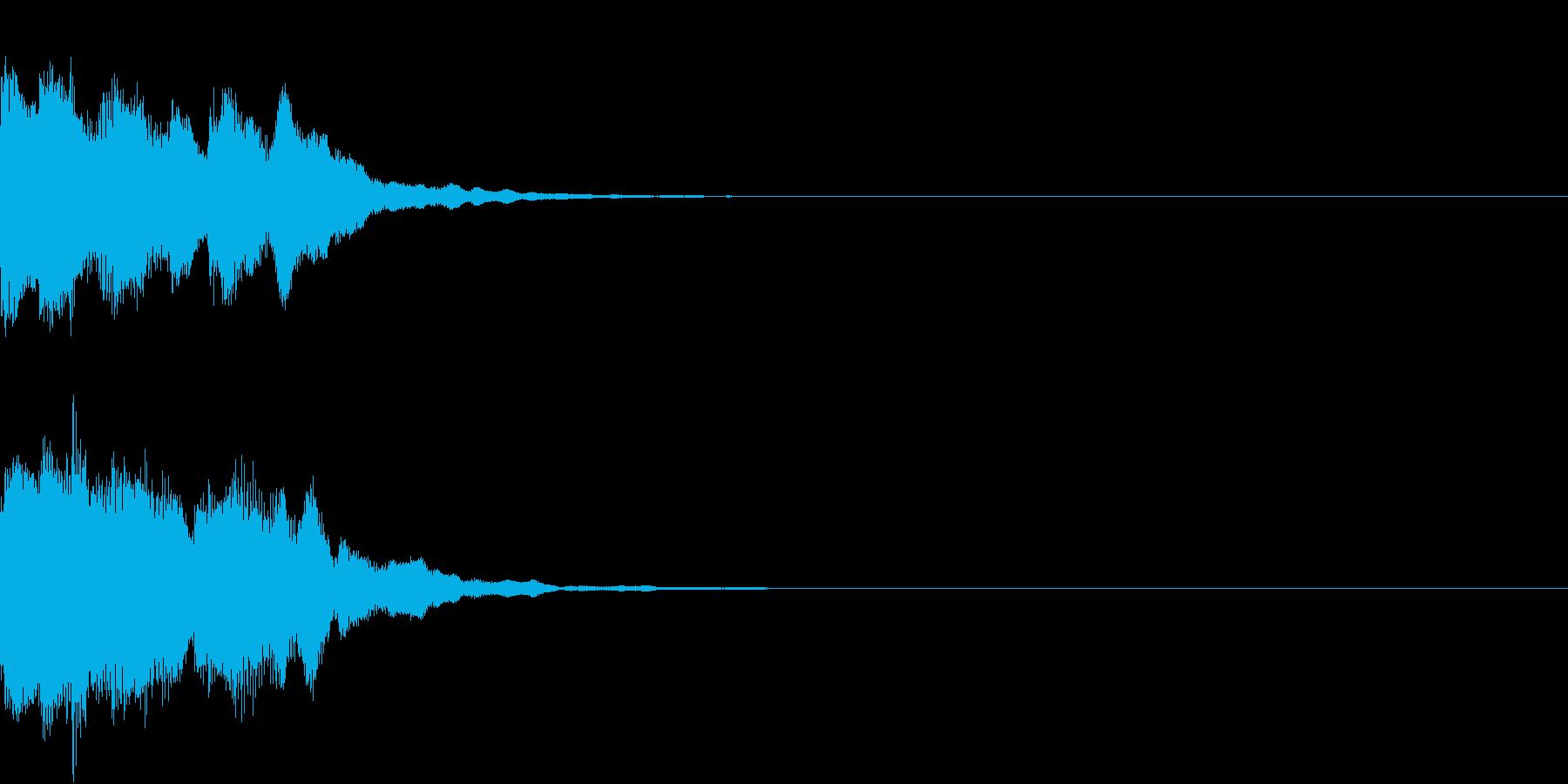 レベルアップ アイテム 入手 発見 響きの再生済みの波形