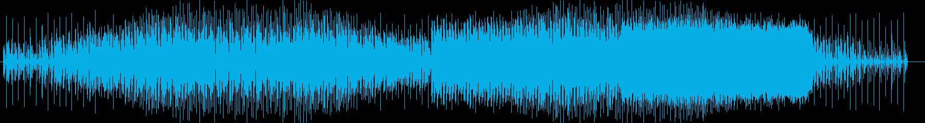 神秘的で幻想的なテクノポップスの再生済みの波形