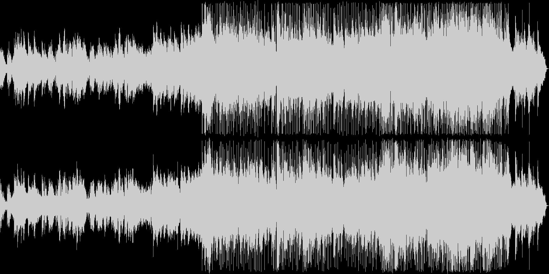 悲しい雰囲気のK-POP風バラード4の未再生の波形