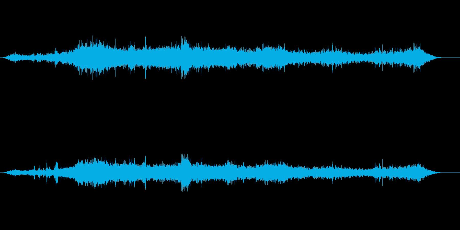 さざ波 ウミネコ 沖での一コマの再生済みの波形