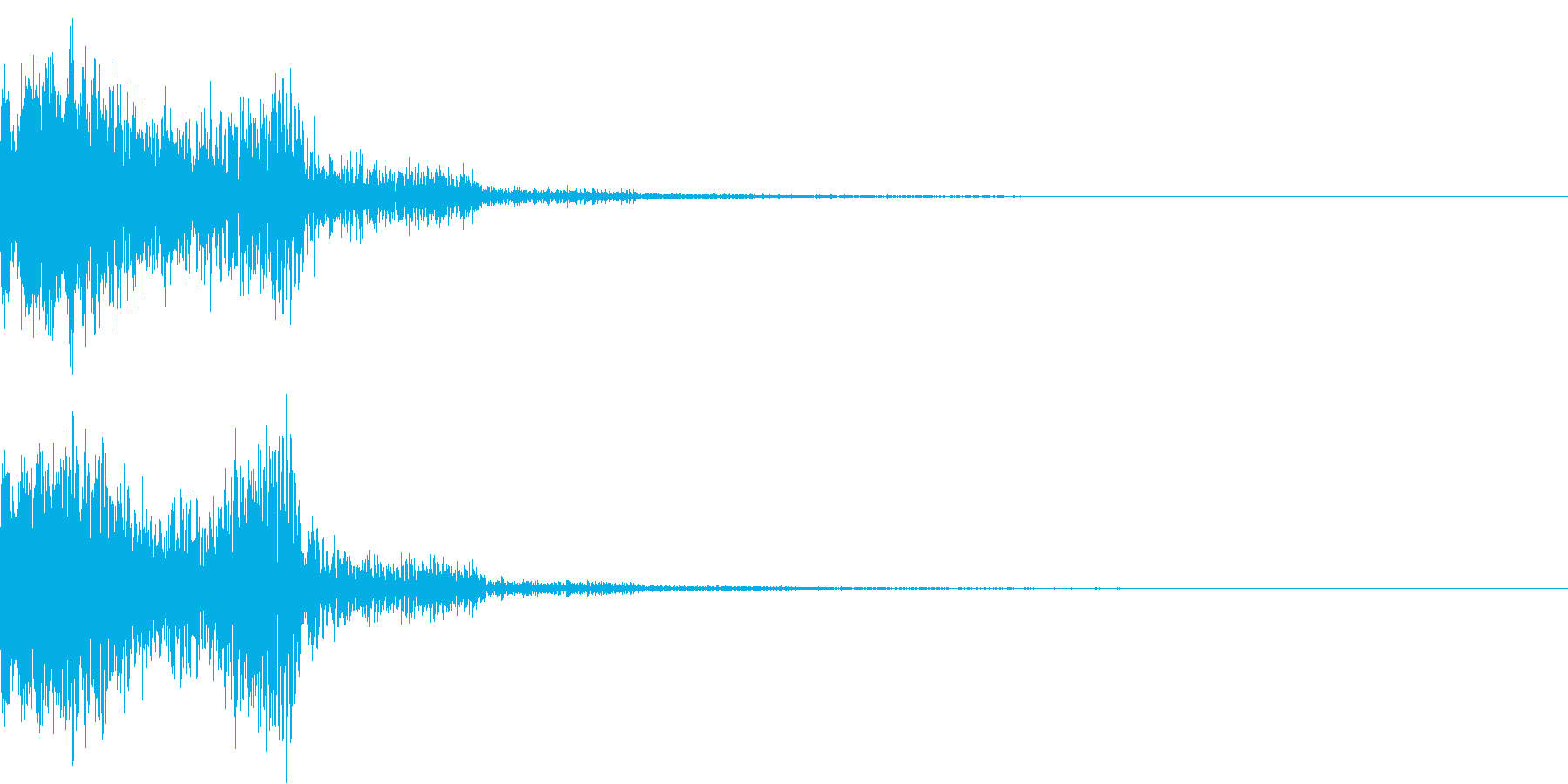 ショット_その8の再生済みの波形
