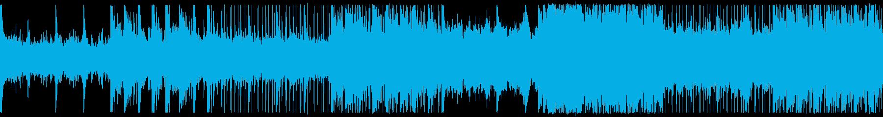 浮遊感のある幻想的なピアノアンサンブルの再生済みの波形